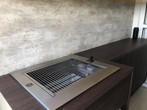 Churrasqueira elétrica para varanda gourmet
