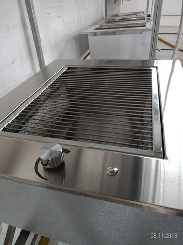 Fábrica de churrasqueiras de aço inox